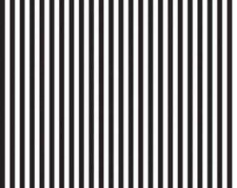 Riley Blake Designs, 1/4 Inch Stripe in BLACK (C555)