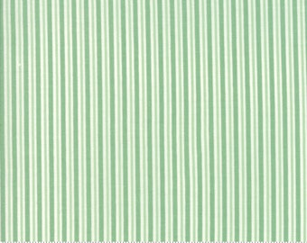 Sweet Christmas - Candy Cane Stripe- Spearmint (31155 21)Urban Chiks Sweet Christmas Moda - Quilting Fabric - Cut Options Available