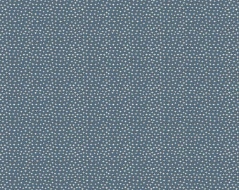 "Joey Criss-Cross Blue by Deena Rutter for Riley Blake Designs (C8495 BLUE) - Children's Fabric - 12"" remnant"