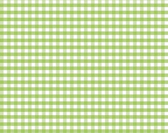 Green Medium Gingham by Riley Blake Designs (C450 30) Gingham Fabric - Cut Options Available