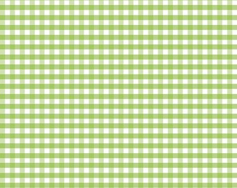 Riley Blake Designs, Medium Gingham in Green (C450 30)