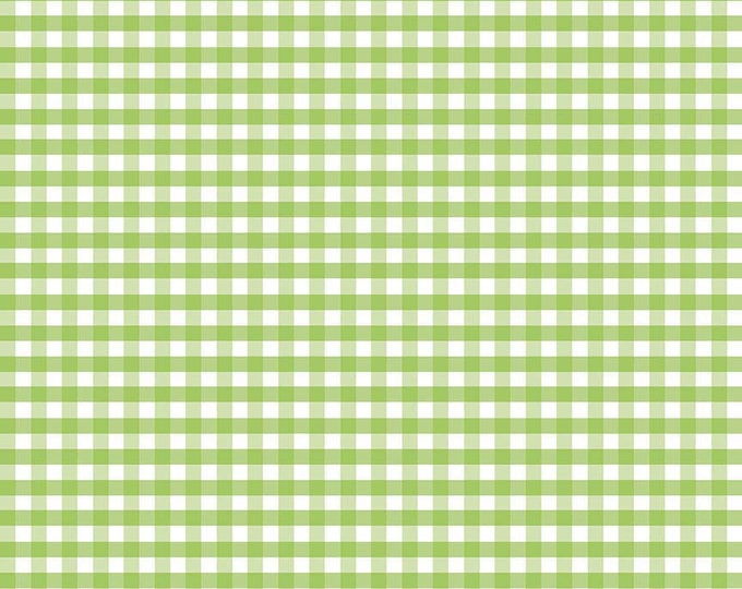 Riley Blake Designs, Medium Gingham in Green (C450 30)