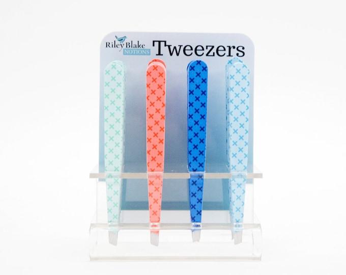 Featured listing image: Riley Blake Designs, Tweezers - Kisses design