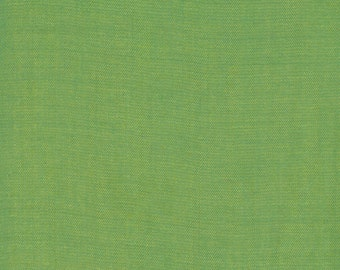 Moda Cross Weave Woven in Green Yellow (12119 28)