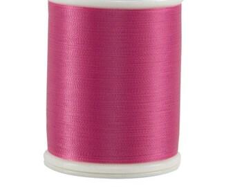 604 Dark Pink - Bottom Line 1,420 yd spool by Superior Threads