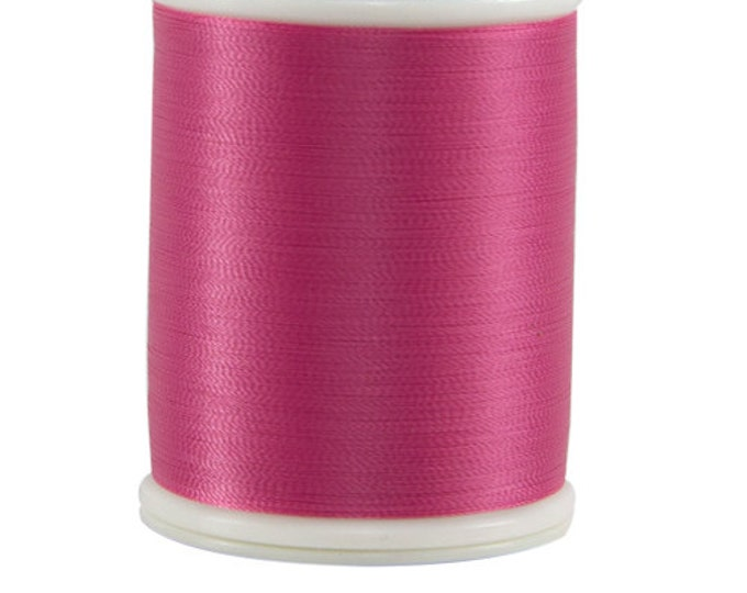 604 Dark Pink - Bottom Line 1,420 yd spool by Superior Threads