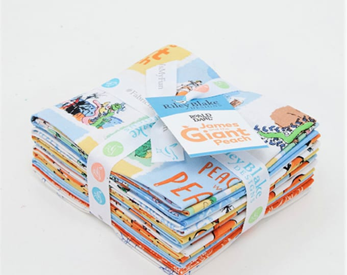 James and The Giant Peach Fat Quarter Bundle (FQ-7740-10)