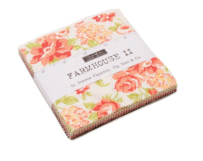 Charm Pack of Farmhouse II (20320PP) by Fig Tree & Co. - Charm Pack