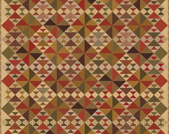 Spice it Up Quilt Kit By Jo Morton for Moda (KIT38050)