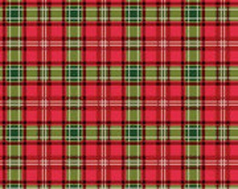 Christmas Memories Multi-Colored Plaid by Riley Blake Designs - Christmas Fabric - Cut Options Available (C8698-MULTI)