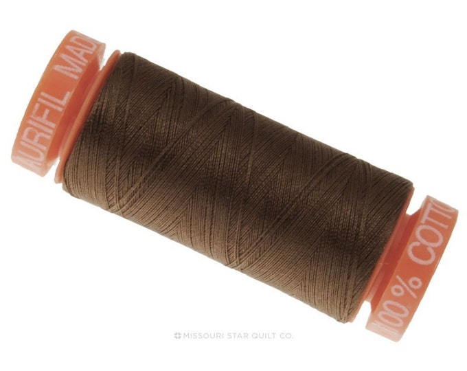 MK50 1140 - Aurifil Bark Cotton Thread