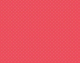 Farm Girl Vintage Calico Red by Lori Holt (Bee in My Bonnet) (C7884-RED)