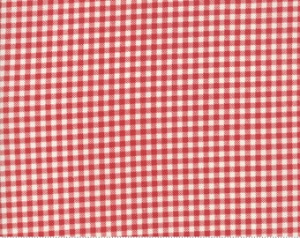 Sweet Tea Plaid in Red by Sweetwater for Moda Fabrics - (5729-18)