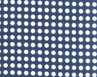 Gooseberry (5013 17) Polka Dots Midnight by Lella Boutique - cut options available