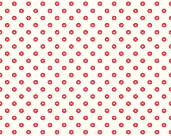Sugarhouse Park Red Dot by Amy Smart (Diary of a Quilter) for Riley Blake Designs (C8897-RED) Cut Options Available