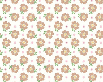 Bake Sale 2 By Lori Holt Floral White (C6983)