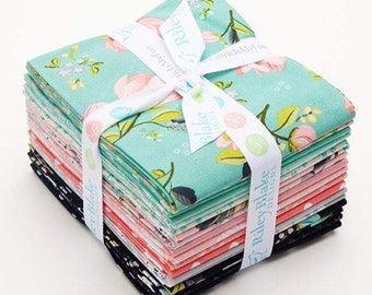 Serenade Fat Quarter Bundle (18 pieces) by Cyndi Walker for Riley Blake Designs (FQ-8290-18)