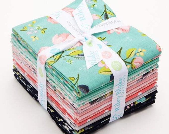 Serenade Fat Quarter Bundle (18 pieces) by Cyndi Walker for Riley Blake Designs (FQ-8290-18)