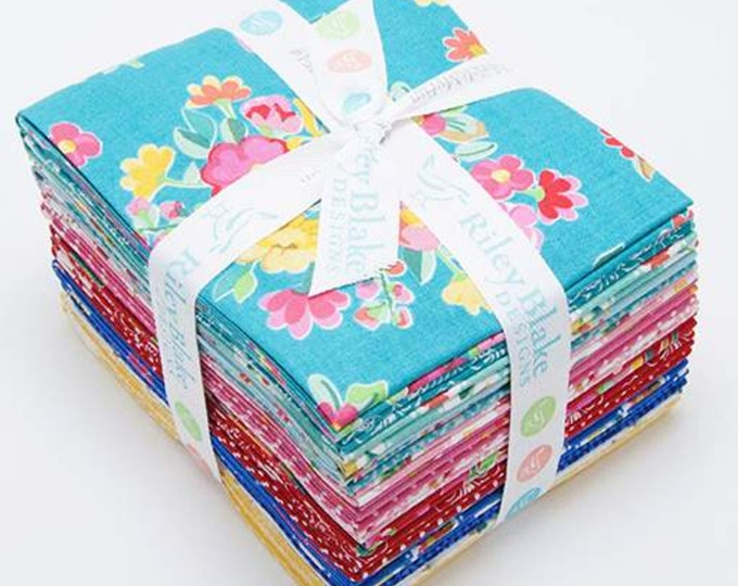 The Hand Picked Collection Fat Quarter Bundle (FQ-7600-18)