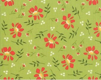 Walkabout Leaf Morning Glory (37561-13) by Sherri and Chelsi for Moda Fabrics