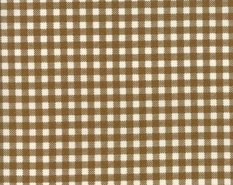 Howdy (20556 23) Earth Gingham by Stacy Iset Hsu