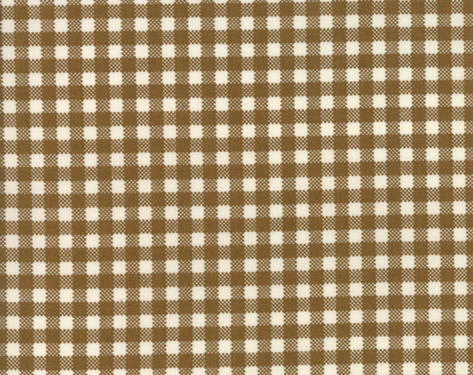Howdy (20556 23) Earth Gingham by Stacy Iest Hsu