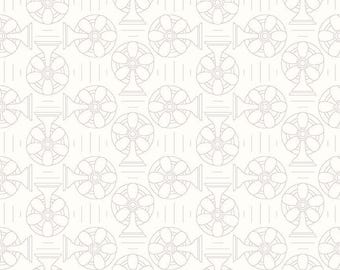 Bee Backgrounds By Lori Holt Cool Gray (C6390-Gray)
