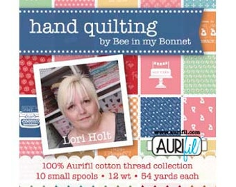 Lori Holt Hand Quilting Thread 12WT - Applique Thread - Quilting / Sewing Thread - Aurifil Thread