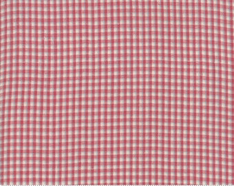 Northport Silky Wovens Red Plaid by Minick & Simpson for Moda Fabrics  (12215 27) - Patriotic Fabric - Plaid Fabric