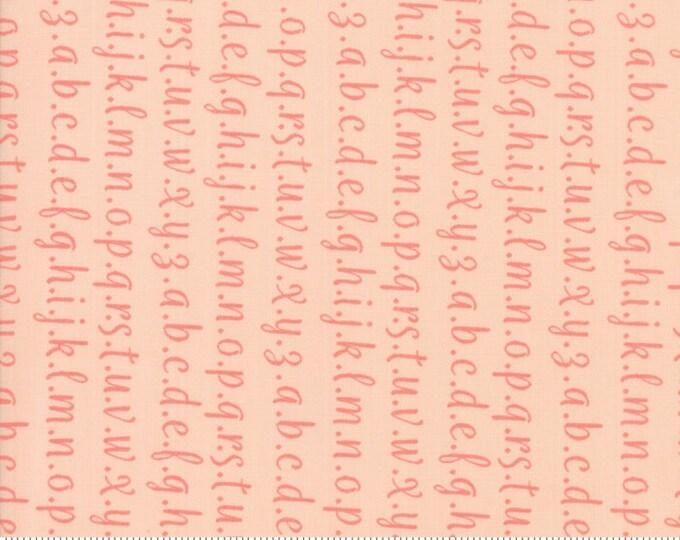 Strawberry Jam Blush Alphabet by Corey Yoder (Little Miss Shabby) for Moda (29065 32)