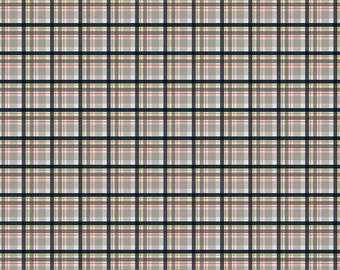 Golden Days Gray Plaid by Fancy Pants Design for Riley Blake Designs (C8604-GRAY) - Cut Options Available