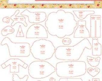 PRESALE: Farm Sweet Farm Sew Simple Shapes by Lori Holt - Includes 38 Templates