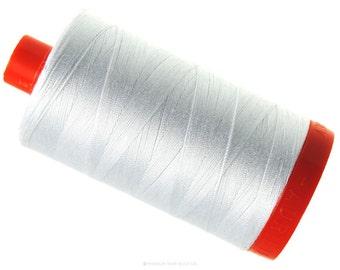 MK50 2024 - White - Aurifil Cotton Thread Large Spool (1422 yds)