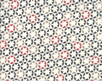 The Print Shop Cream Black Watermark Yardage by Sweetwater for Moda Fabrics  (5743 24) - Cut Options Available