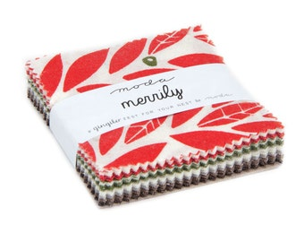 Merrily (48210MC) by Gingiber - Mini Charm Pack