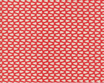 Swell Red O Christmas Tree by Urban Chiks for Moda Fabrics  (31125 13)  - Christmas Fabric - Cut Options Available!