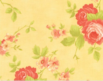 Fig Tree Chantilly Daisy Cabbage Rose by Fig Tree & Co. for Moda (20340 13)