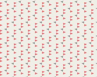 Confetti Watermelon Minimalista - Art Gallery Fabrics (MNL-205) Pink Print Fabric - Low Volume Fabric