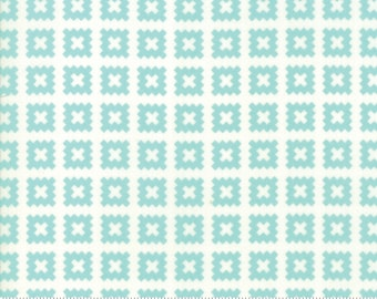 Little Snippets Aqua Quilt Blocks by Bonnie & Camille for Moda Fabrics (55184 12)
