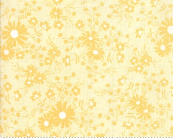Sunnyside Up Meadow Sunny (Yellow) by Corey Yoder (Little Miss Shabby) for Moda (29054 13)