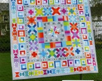 Aviatrix Medallion Quilt Pattern by Elizabeth Hartman (EH 006)