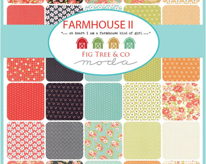 Farmhouse II Yard bundle by Fig Tree and Co. -  40 yds