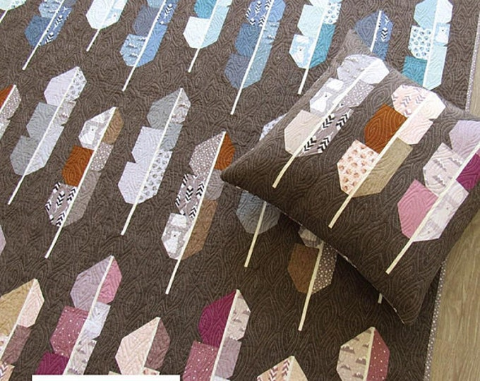 Arctic Feathers - Pattern by Elizabeth Hartman (EH 040)