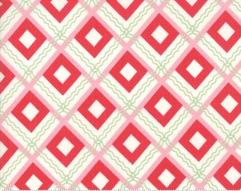 Sweet Christmas - Plaid Scarf - Peppermint (31153 22) Urban Chiks Sweet Christmas for Moda - Quilting Fabric - Cut Options Available