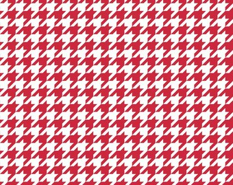 Houndstooth in Red (C970 80)