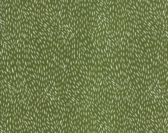 Gingiber Merriment Fur - Holly (48277 13) for Moda Fabrics