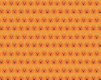 Fab-Boo-Lous Pumpkins - Orange (C8173 ORANGE) SALE Fab-boo-lous by Dani Mogstad for Riley Blake Designs - Halloween fabric