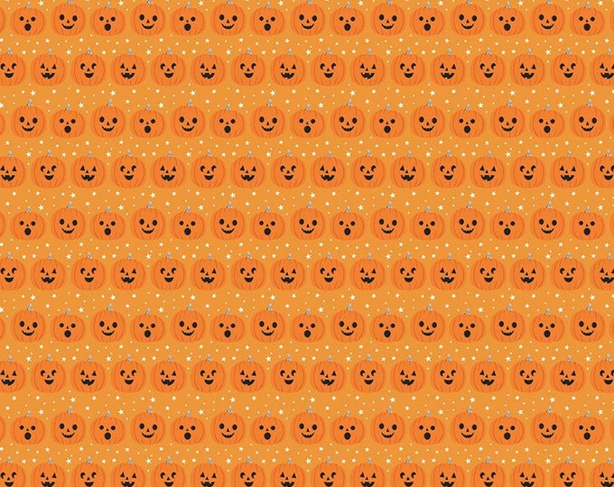 Fab-Boo-Lous Pumpkins - Orange (C8173 ORANGE) Fab-boo-lous by Dani Mogstad for Riley Blake Designs