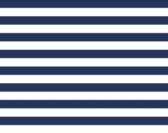 "Navy Stripe Knit - 1/2"" wide Stripes - SALE - Riley Blake Designs -  Jersey KNIT Cotton Lycra Stretch Fabric - Cut options available"