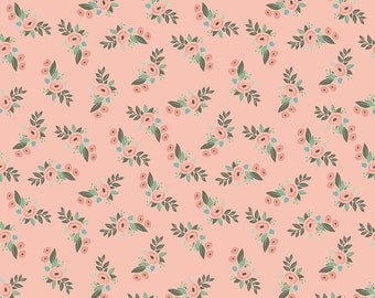 Bliss Blush Floral by My Mind's Eye for Riley Blake Designs (C8161-BLUSH)